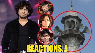 Check out the reactions on Sonu Nigam's tweets about azaan!