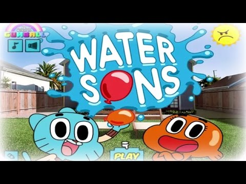 The Amazing World  Of Gumball Games - Water Sons - Full Episodes New Game Movie 2014 HD English