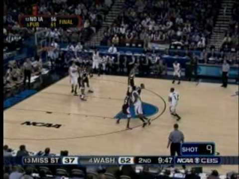 2008-09 Husky Basketball Highlight Video