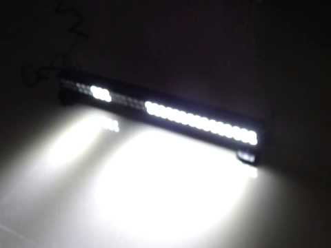60w Multifunctional Strobe Led Light Bar Youtube