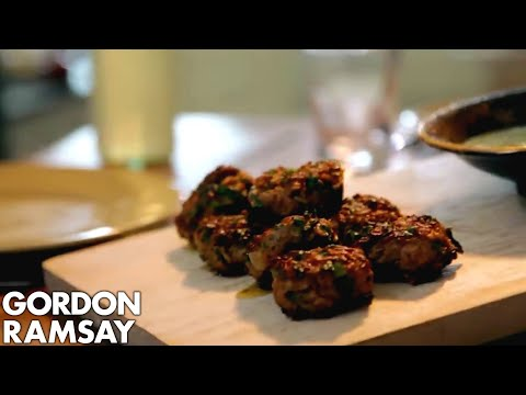 Download Youtube: Lamb Koftas with Beetroot Hummus | Gordon Ramsay