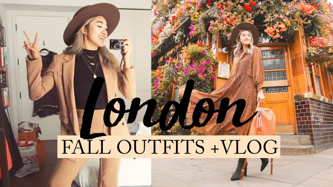 [VIDEO] – LONDON: Fall Outfit Ideas + Vlog