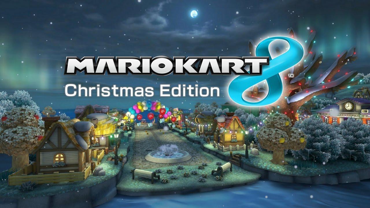 Christmas Mario Kart.Mario Kart 8 Christmas Edition Modded Tracks Komplett Metasmiths Ger Wii U