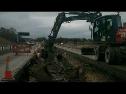 Timelapse 600mm pipe installation