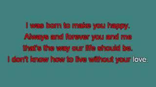 Britney Spears Born to make you happy mh [karaoke] [karaoke]