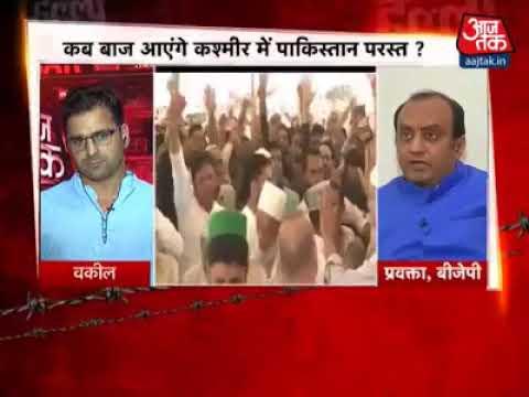 Debate Babar Qadri on indian channel
