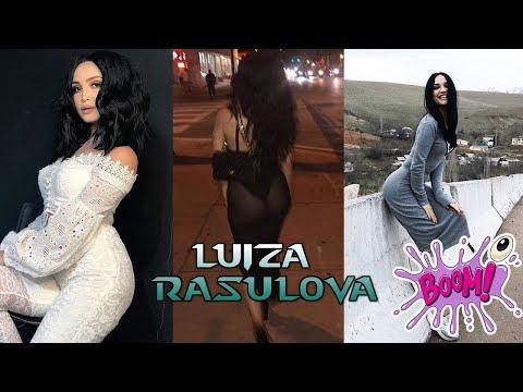 Luiza Rasulova 🍒🍑 qomatini ko'z ko'z qilish bilan band 😘😘 Луиза Расулова фигура бомбаси