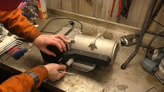 16KW Diesel Water Heater Disassembly