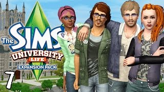 let s play the sims 3 university life ep 7 heat of the moment kiss