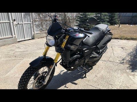 Китайский мотоцикл X MOTO RX200.  Открываю сезон 2019.
