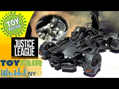 Justice League Ultimate Batmobile R/C Car - Batman Movie toys by Mattel - Toy Fair 2017