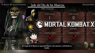 Mortal Kombat X Android Desafio / Challenge Jade del Dia de los Muertos Dificil