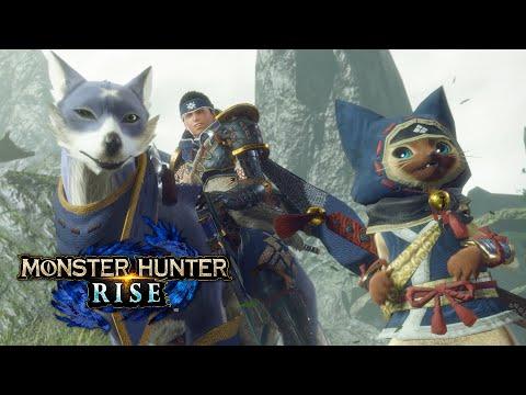 Monster Hunter Rise - Ankündigungstrailer