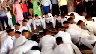 Indian Naval Academy celebration post POP and stripe shipping 2014