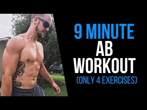 9 Minute Ab Workout You Can Do Anywhere (4 EXERCISES)