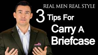 Briefcases & Back Problems - 3 Tips For Working Men Who Carry Their Office In A Briefcase