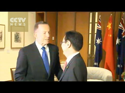China and Australia sign free trade agreement