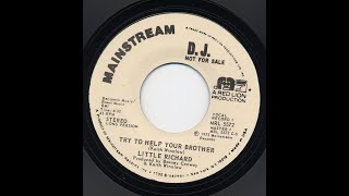 Try To Help Your Brother (Long promo version) ~ Little Richard