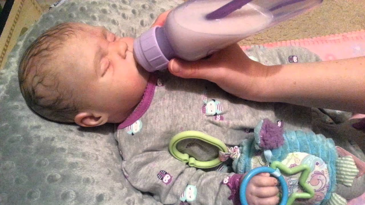 Reborn Baby Melissa S Night Routine And First Bottle