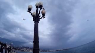 Ялта 2017. Зимняя прогулка. Ялта и Алушта, в чем разница?Крым