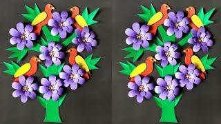 DIY: Wall Decor/DIY Wall Decoration Ideas/DIY Paper crafts for home decoration/DIY Room decor