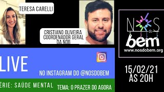 "15/02/21 Live ""O Poder do Agora"" - Teresa Carelli"