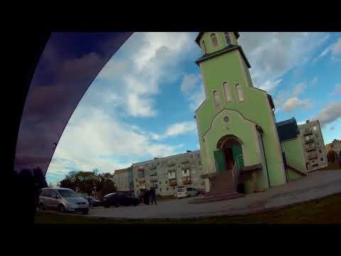 Улица Ленинградская и Гусевское шоссе в Черняховске