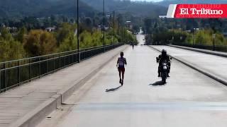 Video: Gustavo Frencia, ganó su quinta corona en los 10k