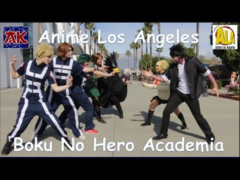 Anime Los Angeles 2018 Boku No Hero