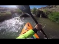 Guy Kayaks Through Drainage Pipe