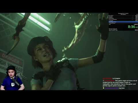 [Inferno] NO SHOP ITEMS - 1:07:04 - Resident Evil 3: Remake Speedrun