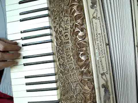 L'Organola - video 2 - Beauty Queen - antique accordion for restoration - ebay.ch
