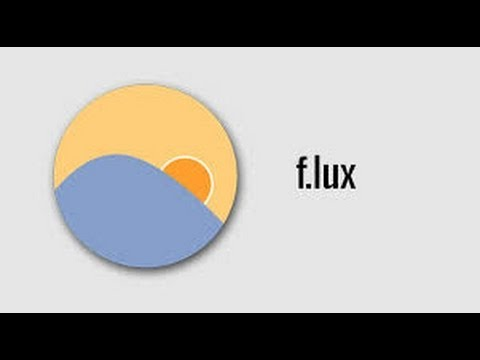How to install the F.LUX app on iphone or ipad