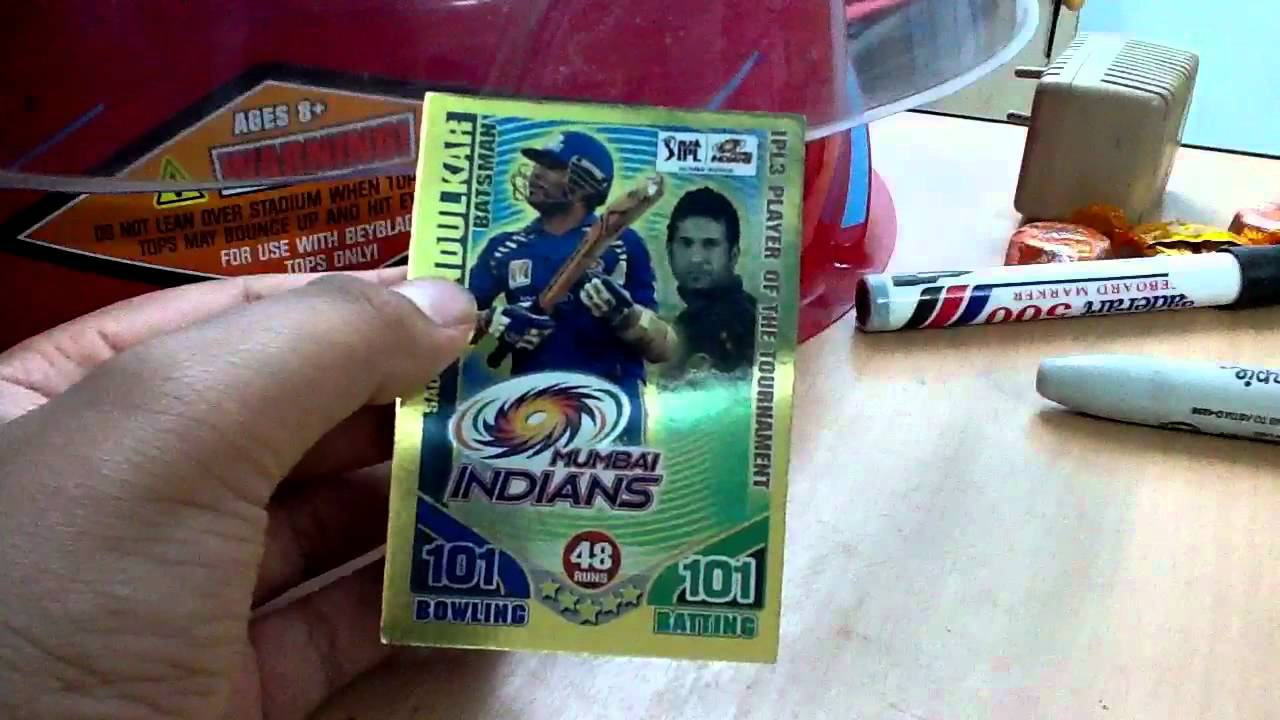My rare card cricket attax collection youtube for Best cards for 2015