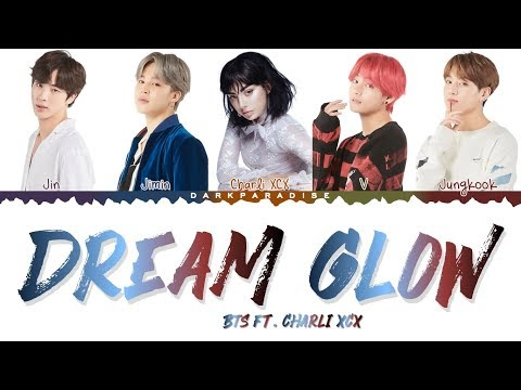 BTS ft Charli XCX - Dream Glow Color Coded