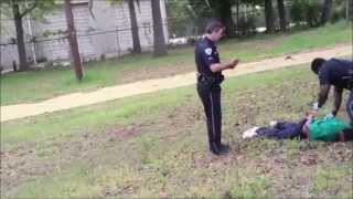South Carolina officer shoots fleeing man in back RAW FOOTAGE