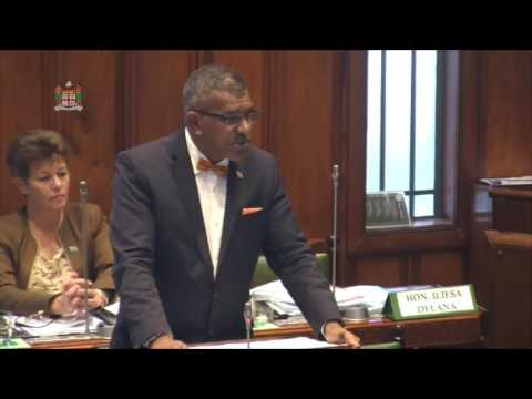 Minister for Tourism informs the Parliament on the Exception