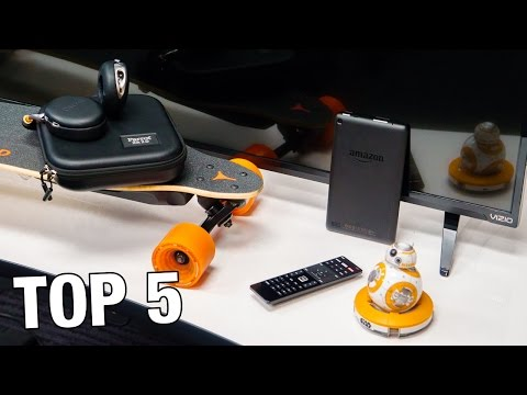 Top 5 Tech for the Holidays!