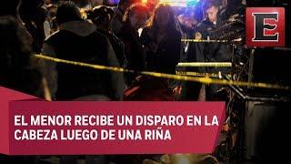 Muere adolescente en fiesta patronal de la Venustiano Carranza