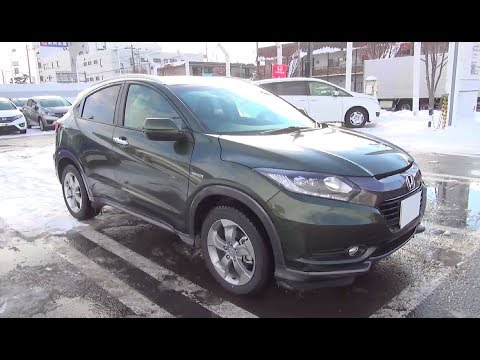 honda vezel hr v hybrid exterior interior youtube. Black Bedroom Furniture Sets. Home Design Ideas