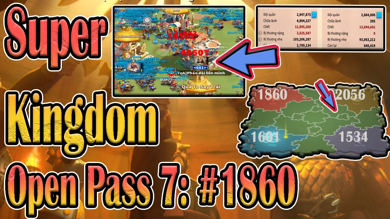 Download #1860 review quà Liên mình cấp 40: Đèo Cấp 7 KvK : Bản Anh Hùng Ca in Rise of Kingdoms