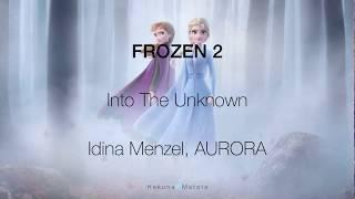 Download Mp3 Into The Unknown | Lyric Video | Idina Menzel, Aurora