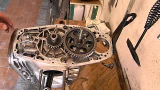Установка шестерней кв,ГРМ,мас/насоса на двигатель Мотоцикла ДНЕПР МТ !!