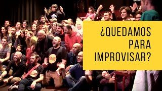 Improvermut, la quedada de la Escuela de Impro de Barcelona