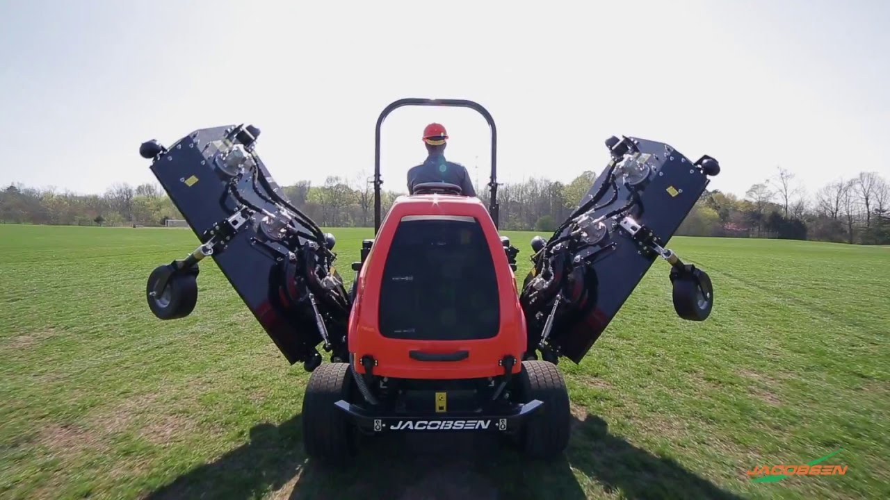 Introducing the Jacobsen HR700 wide-area rotary mower