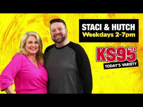 """Meet Hutch from the all-new """"Staci & Hutch"""" Afternoon Show!"""