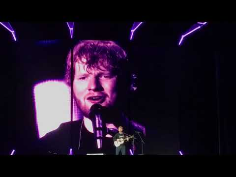 Ed Sheeran Give Me Love live at Lincoln Financial Field Philly 9.27.28