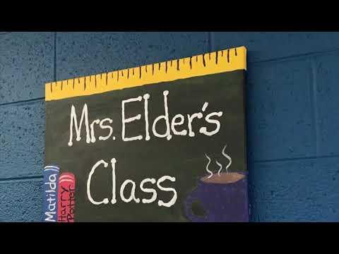 Mrs. Ashlee Visits Washington Parks Academy