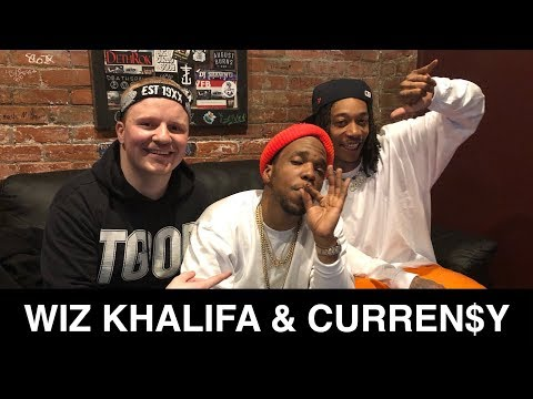 WIZ KHALIFA And CURREN$Y Interview With Damon Campbell