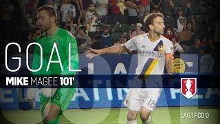 Lamar Hunt U.S. Open Cup Semifinal: LA Galaxy vs. FC Dallas: Mike Magee Goal - Aug. 10, 2016
